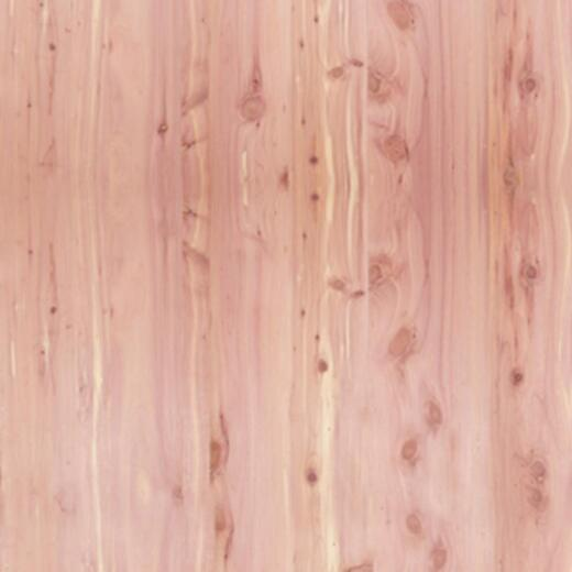 Global Product Sourcing 4 Ft. x 8 Ft. x 1/4 In. Red Cedar Panel Veneer
