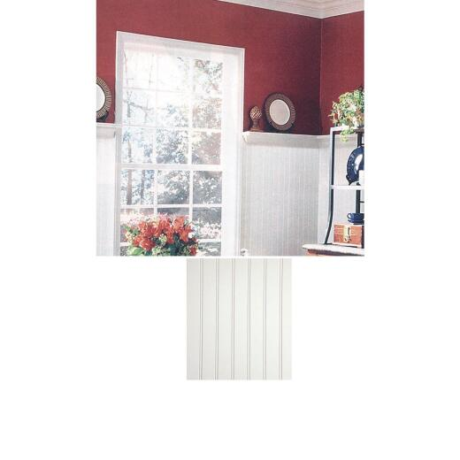 DPI 4 Ft. x 8 Ft. x 3/16 In. Paintable White Beaded Wall Paneling