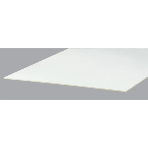 Building Products of Canada Primecoat 4 Ft. x 8 Ft. x 7/16 In. White Building Board