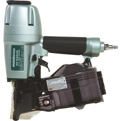 Metabo 16 Degree 2-1/2 In. Coil Siding Nailer