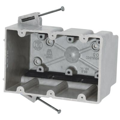Allied Moulded fiberglassBOX 3-Gang Wall Box