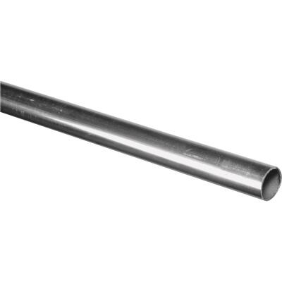 HILLMAN Steelworks Aluminum 1 In. x 3 Ft. Round Tube Stock